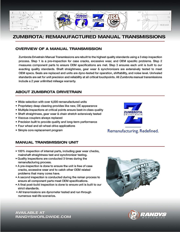 USA Standard ZMBK122 Manual Transmission Rebuild Kits
