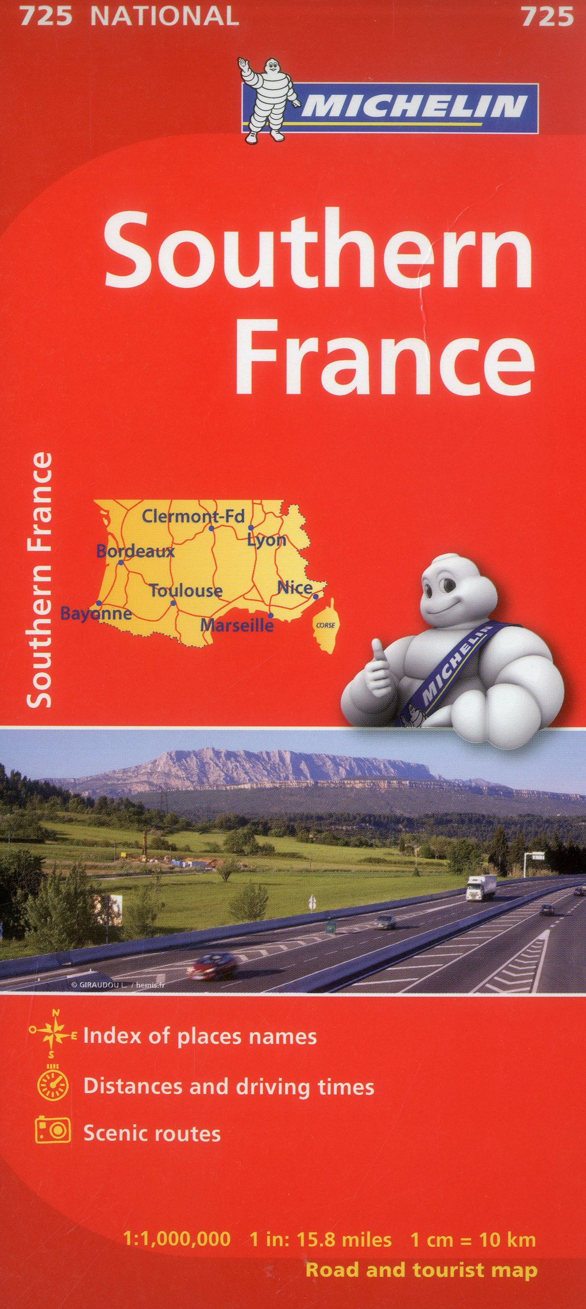 South Of France Map Detailed.Michelin France South Map 725 Maps Country Michelin Michelin