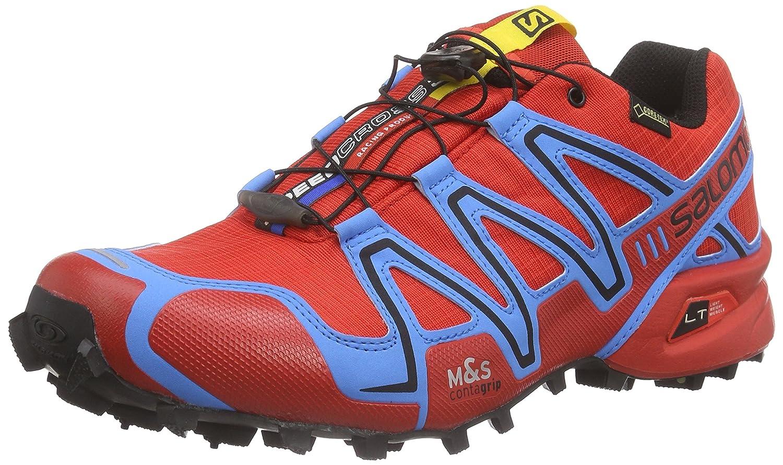 Salomon Herren Speedcross 3 GTX Traillaufschuhe blau