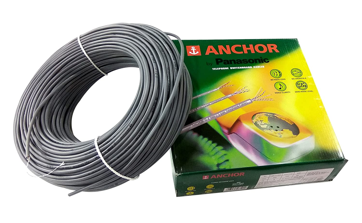 Anchor Telephone 2 Pairs 04mm 90m Length Sensor Cable How To Wire A Home Improvement