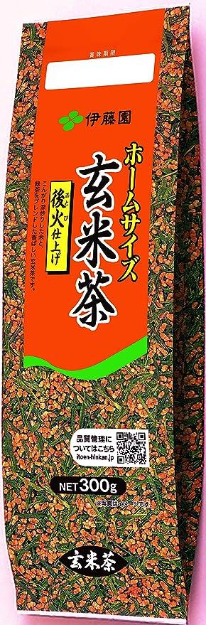 伊藤園 ホームサイズ 玄米茶 300g