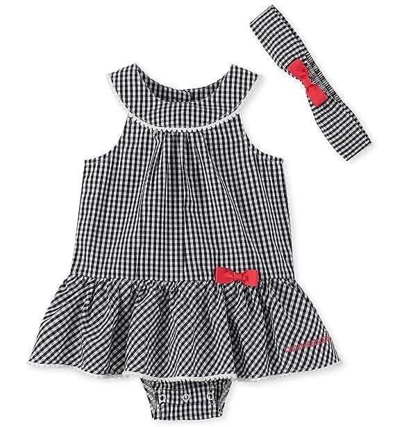 Amazon.com: Calvin Klein - Traje de sol para niña con ...