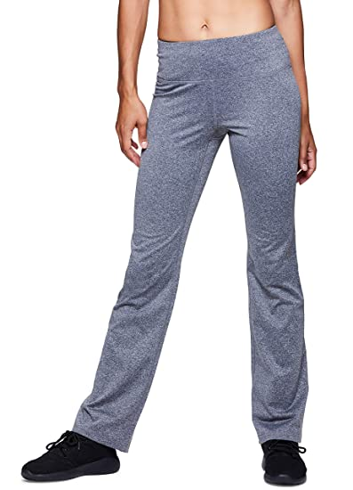 37882c0e315795 RBX Active Women's Fleece Lined Bootcut Pants Charcoal L at Amazon Women's  Clothing store: