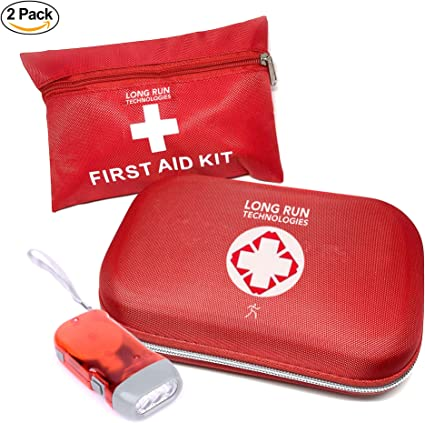 Outdoor Camping Hiking Survival Bag Home Travel Emergency Rescue First Aid Kit