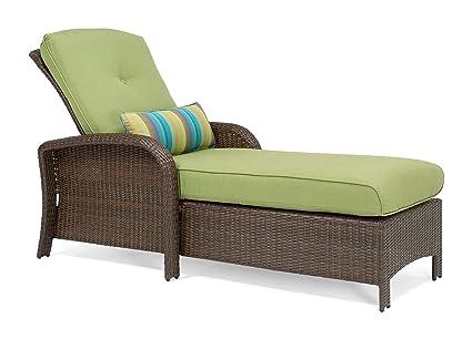 Amazon Com La Z Boy Outdoor Sawyer Patio Furniture Chaise Lounge