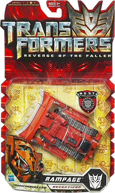 Amazon Com Transformers Movie 2 Deluxe Rampage Toys Games