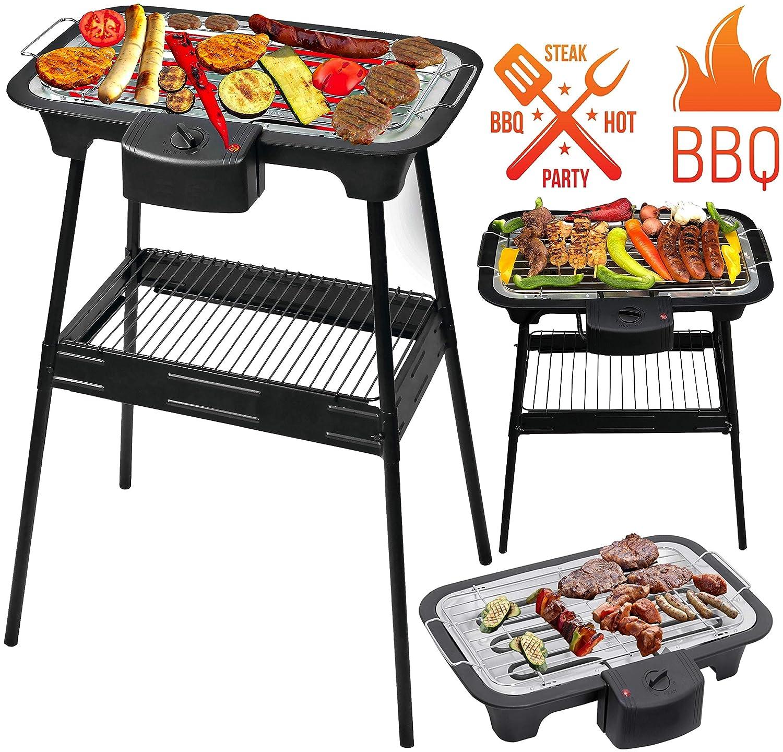 Barbecue Grill BBQ Elektrogrill Tischgrill Gartengrill Grill Elektro Partygrill