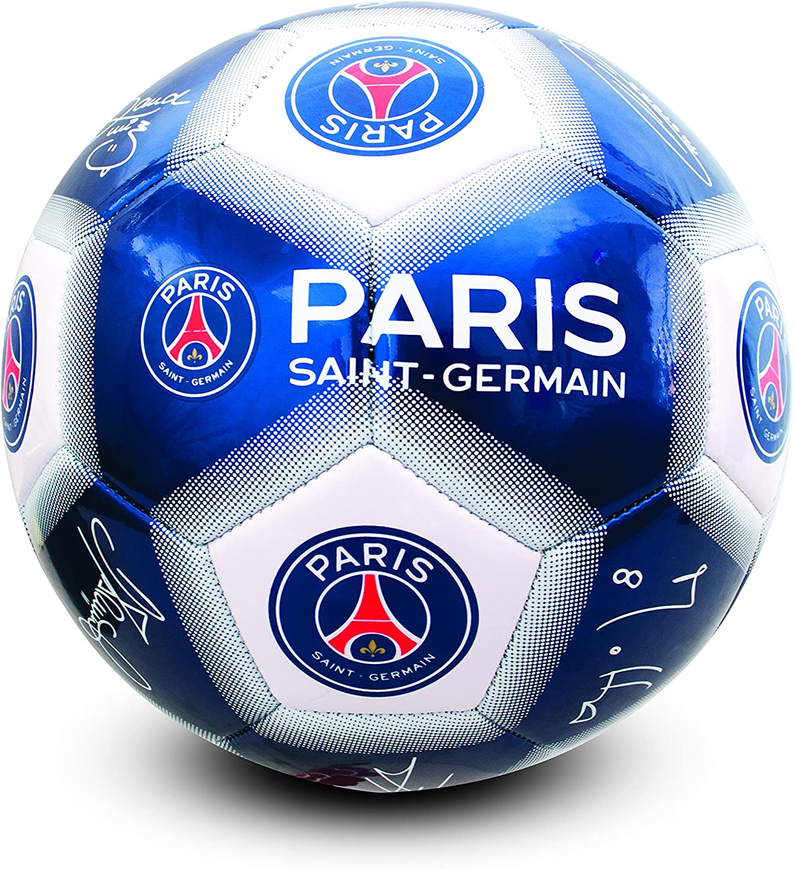 Paris St Germain - Pelota de fútbol Unisex, Color Azul, 5 Unidades ...
