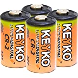 CR2 3v Lithium Genuine KEYKO ® Replacement Battery- 4 pcs Pack BULK