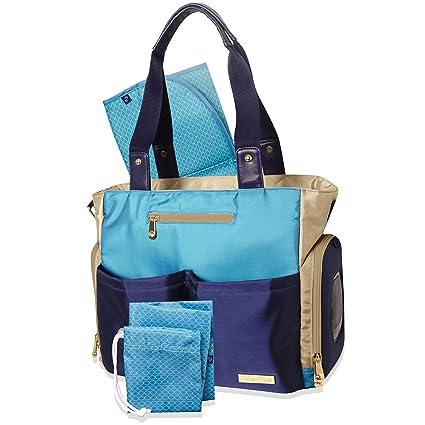 Fisher-Price Deluxe Fashion – Bolso para pañales, 4 piezas