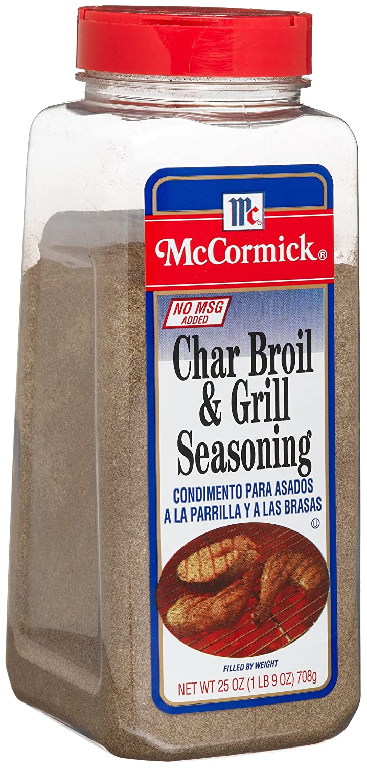 Amazon.com : McCormick Char Broil & Grill Seasoning, 25 ...
