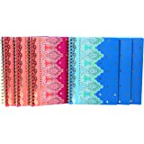 Studio C Taj Mahal Personal Size Notebook, 6 Pack (31333)