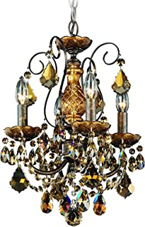 product image for Schonbek 3648-76H Swarovski Lighting New Orleans Chandelier, Heirloom Bronze