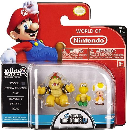 Amazon Com Nintendo Mario Bros Universe Micro Wave 1 Bowser