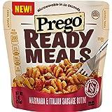 Prego Ready Meals, Marinara & Italian Sausage Rotini, 9 Ounce (Pack of 6)