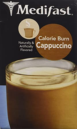 Medifast Essential Calorie Burn Cappuccino 1 Box 7 Meals