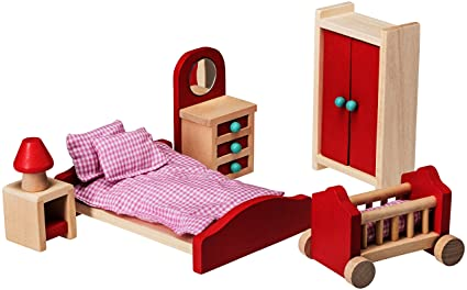 Amazoncom Dollhouse Furniture Dollhouse Accessories Wooden
