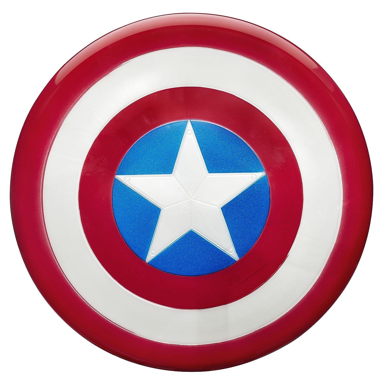 Marvel Avengers Captain Escudo con el diseño icónico del Capitán América (Hasbro B0444EU6)