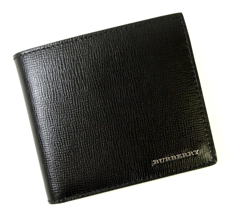 (バーバリー) BURBERRY 財布 メンズ ロンドンレザー 二つ折り(ブラック) 3997618 BR-1234 [並行輸入品] B01DINW47C