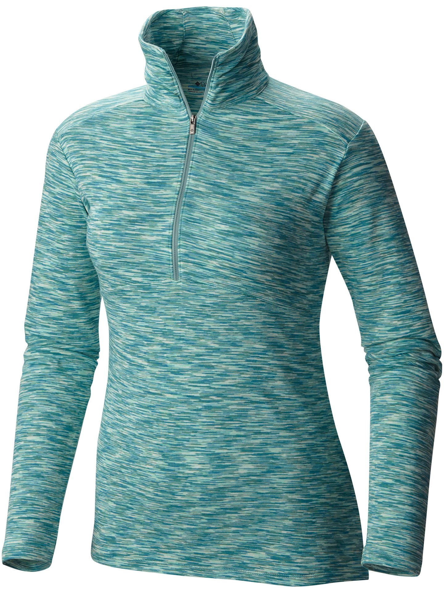 Columbia Women's Outer Spaced Half Zip, Dusty Green, Large by Columbia (Image #1)
