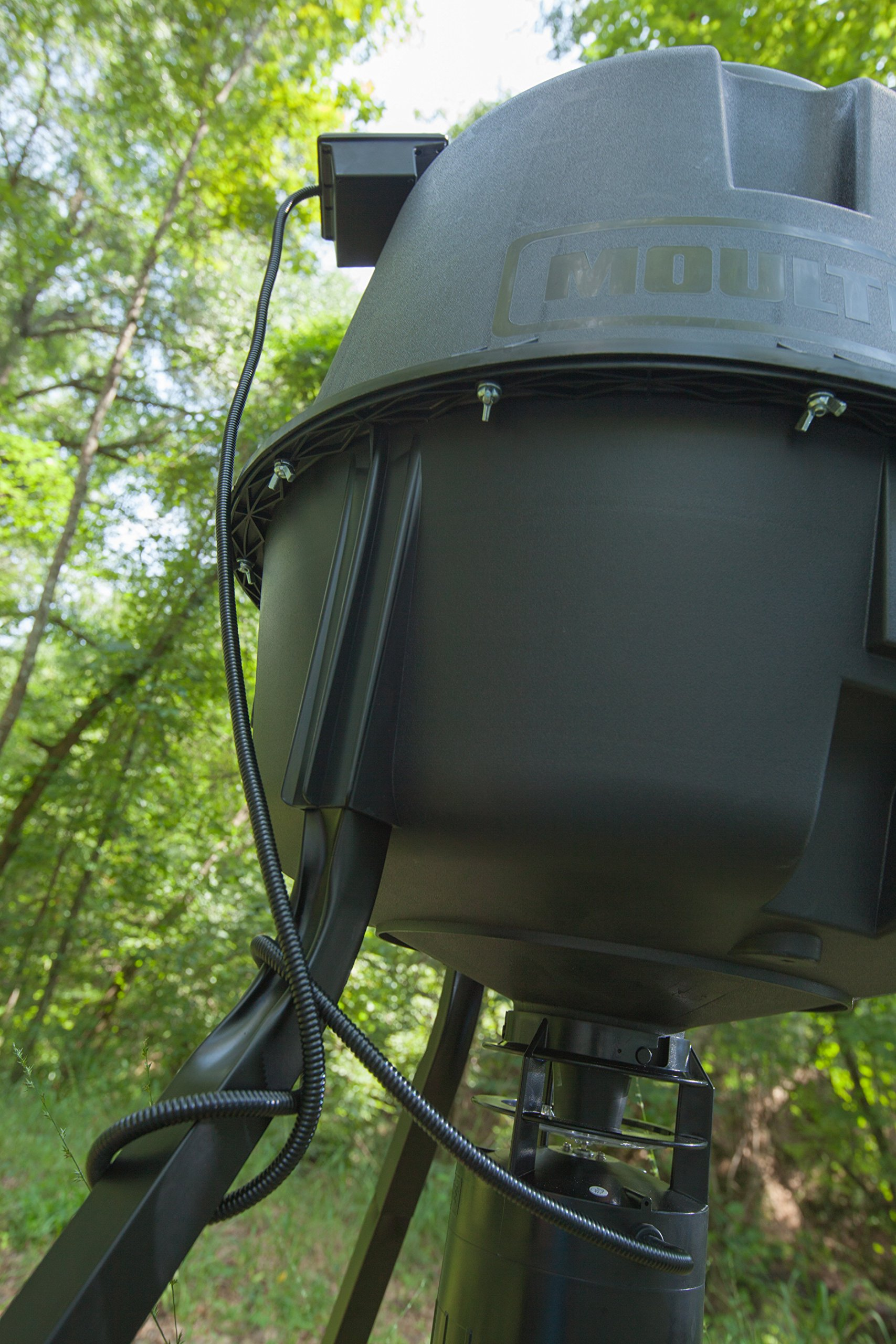 Moultrie Feeder Power Panel | 6-Volt | Built in Battery Indicator by Moultrie