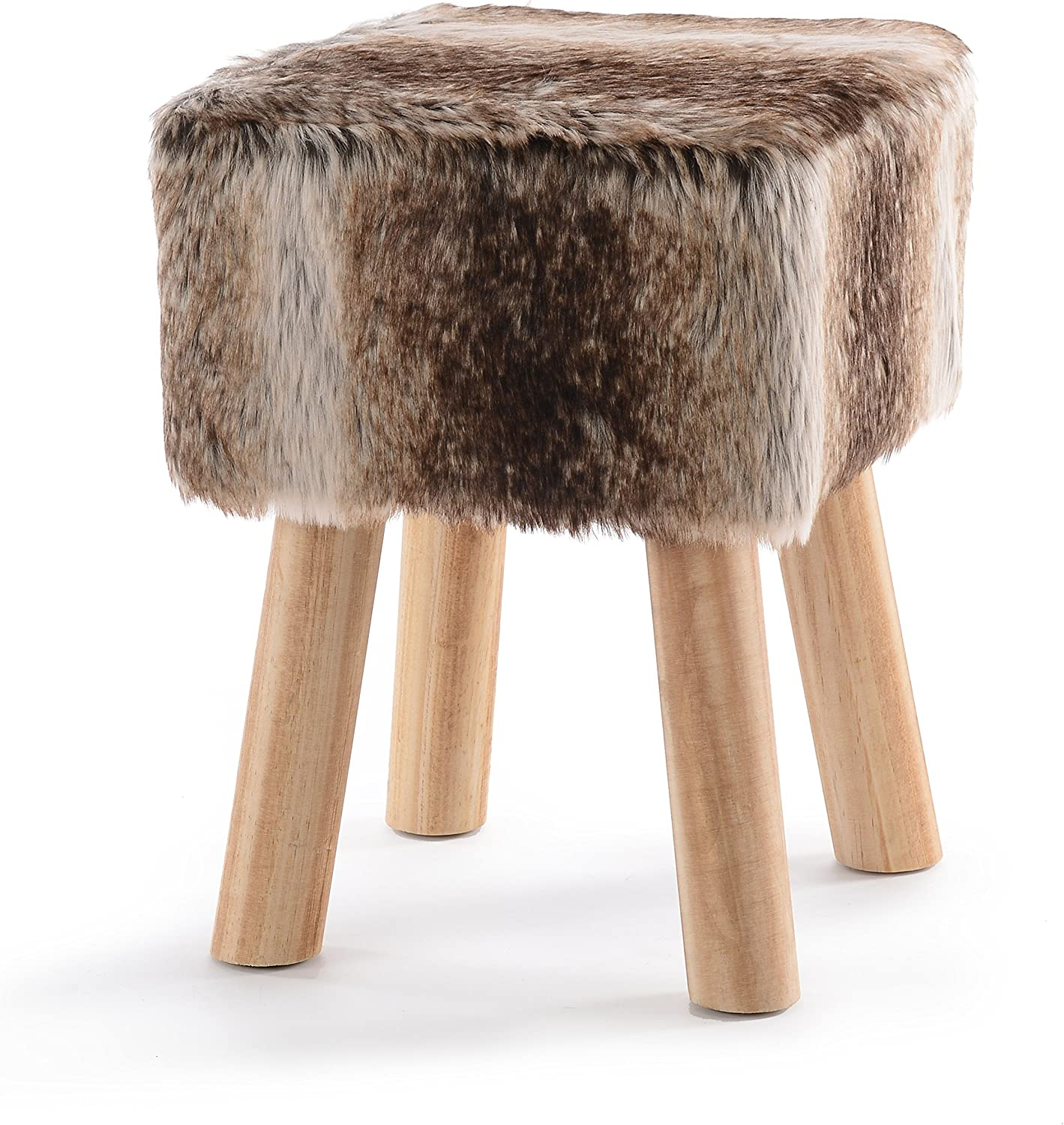 "Cheer Collection 11"" Square Ottoman 