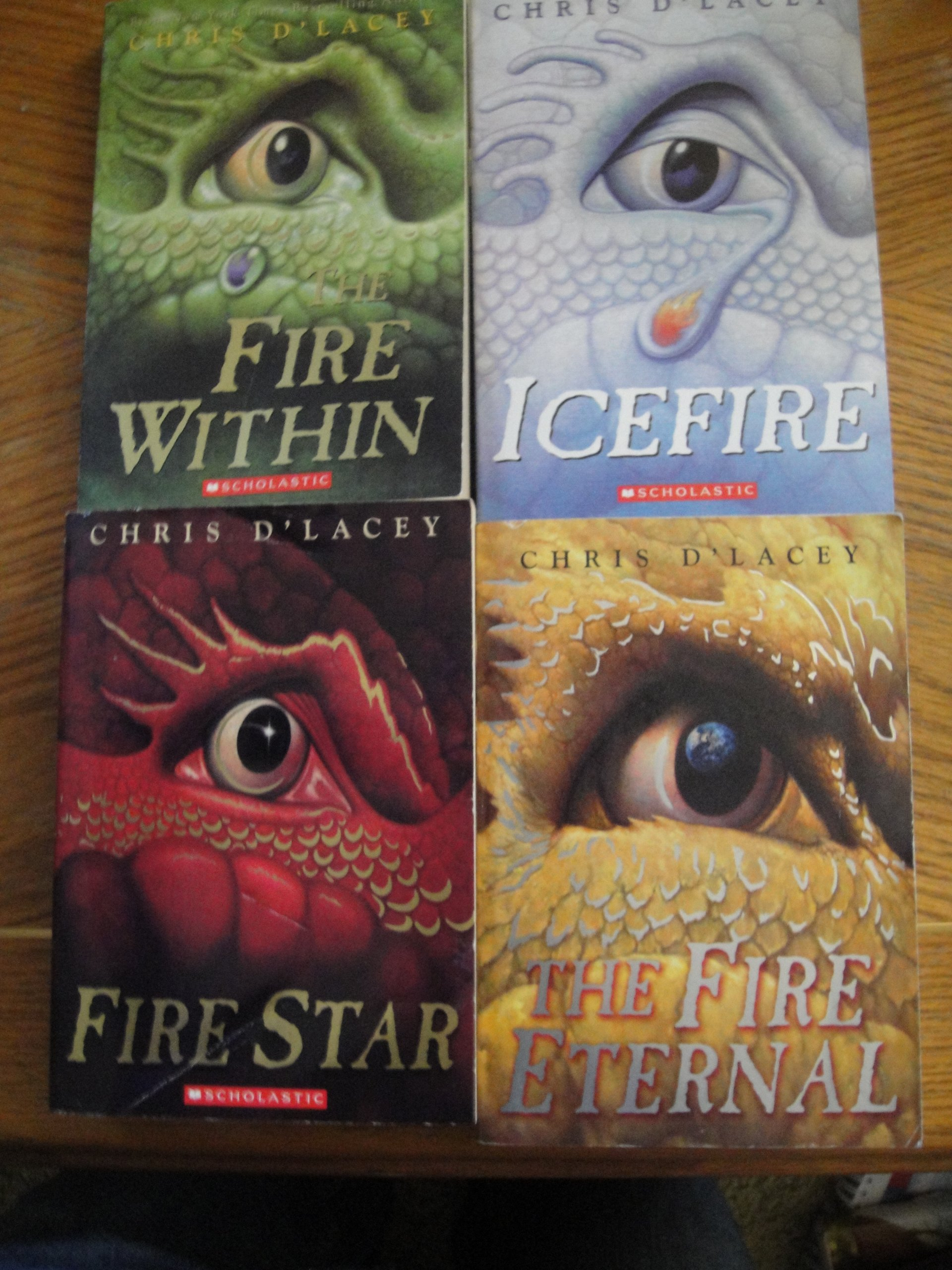 4 Books: Last Dragon Chronicles Series Set - The Fire Within, Icefire, Fire  Star, Fire Eternal, (Last Dragon Chronicles Set Series Collection, Vol.