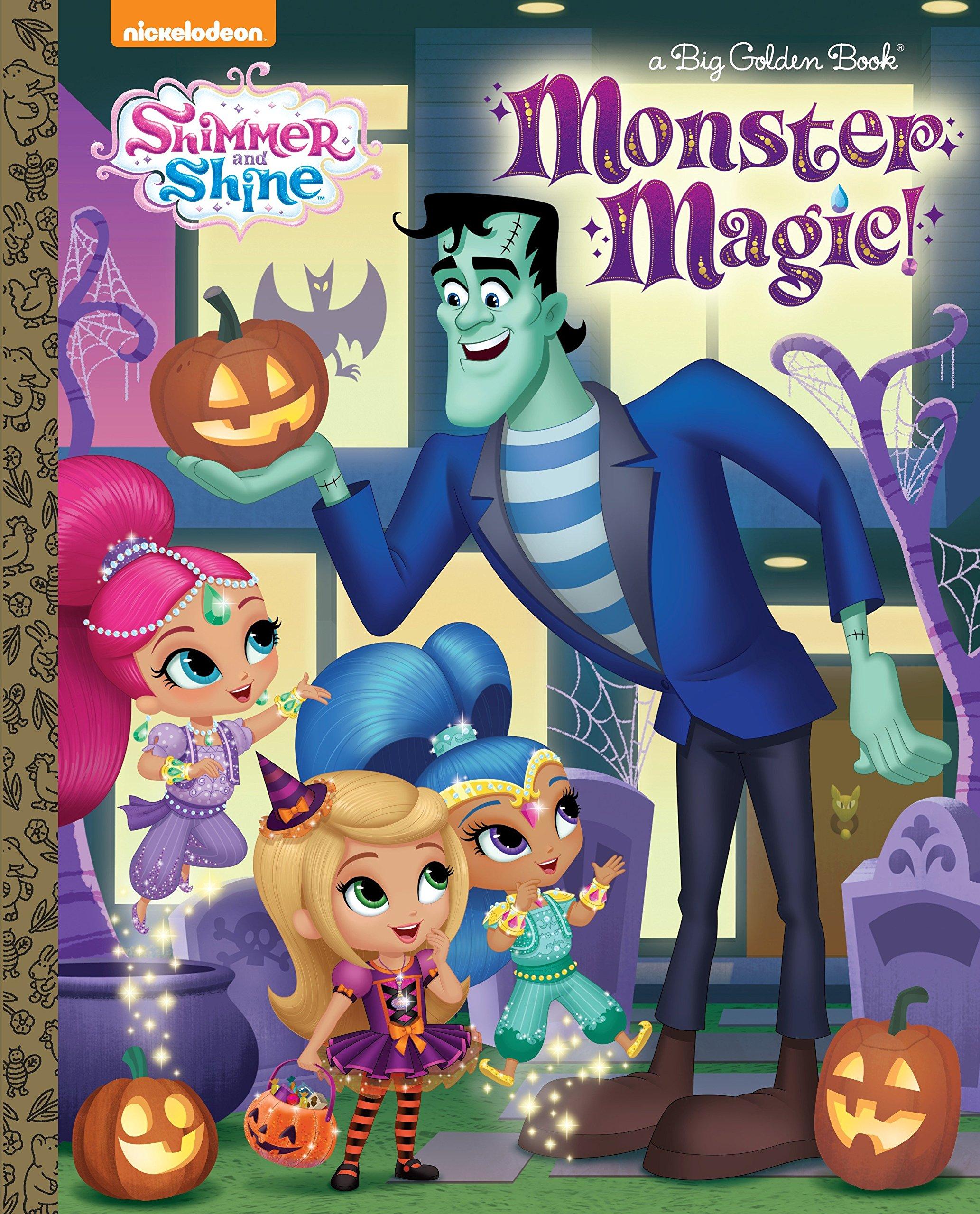 Monster Magic! (Shimmer and Shine) (Big Golden Book) pdf epub