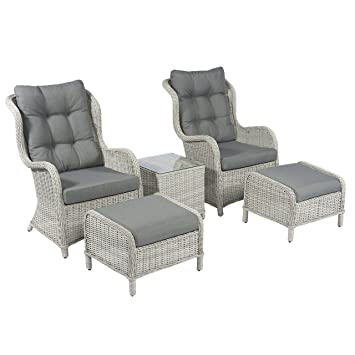 Amazonde Pure Garden Living Lounge Stühle Relax Sessel Kingset