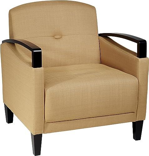 Avenue Six AVE SIX Main Street Chair, Yellow