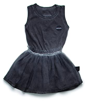 354baa1e2b Amazon.com: NUNUNU Womens Dyed Tulle All-in-One Skirt Dress (Infant ...
