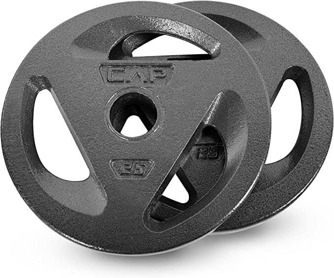 """30 lb total CAP Olympic Weight Plate Set 2/"""" BARBELL PLATE- PROMPT SHIPPING"""