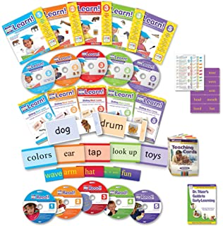 Workbook free phonics worksheets : Amazon.com: Early Reading Program for Baby, Toddler, Preschool ...