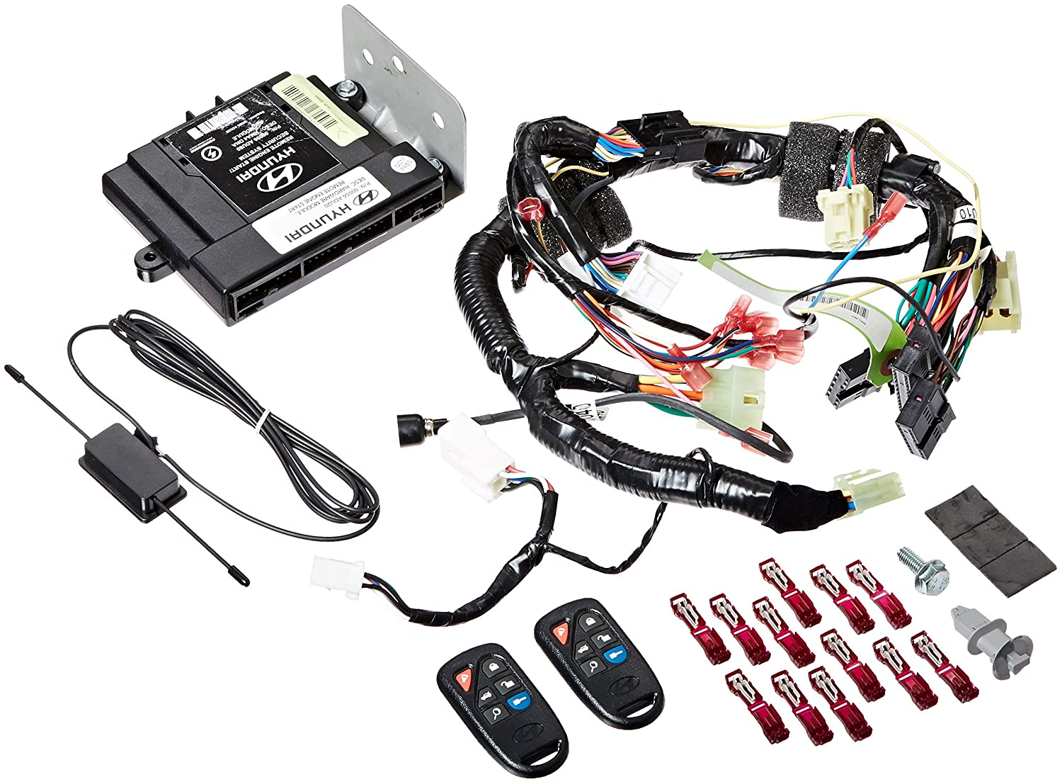 Hyundai elantra wiring harness remote start