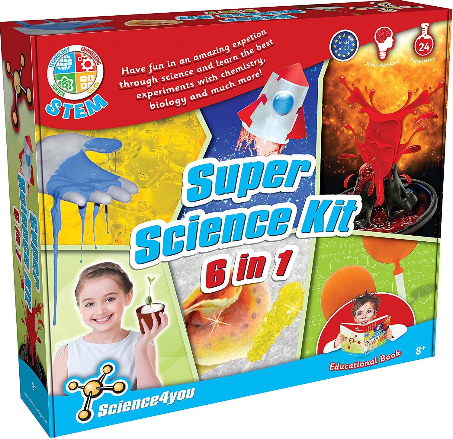 Science4You 483924A 6-in-1 Super Science Kit   B01FVRXDBY