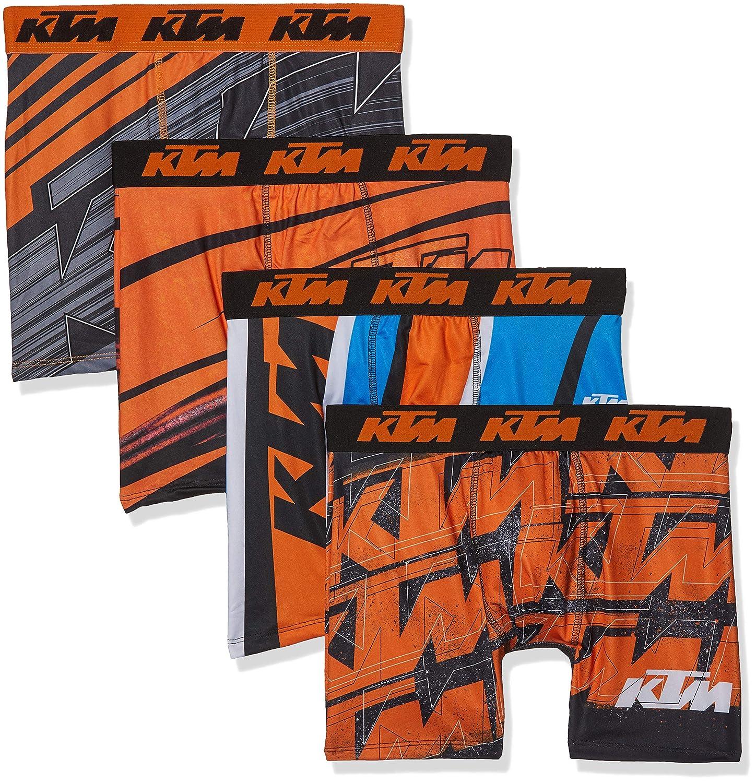 FREEGUN KTM Men Boxer Culotte (Pack de 4 para Hombre