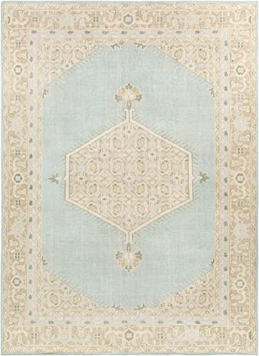 Surya Hand Knotted 100-Percent Wool Classic Area Rug