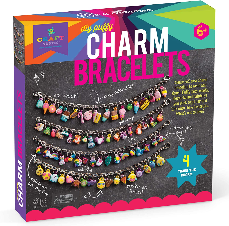 Amazon.com: Craft-tastic – DIY Puffy Charm Bracelets – Jewelry