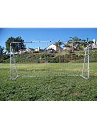 Vallerta 12 X 6 Ft. Powder Coated Galvanized Steel Soccer Goal W/Net.