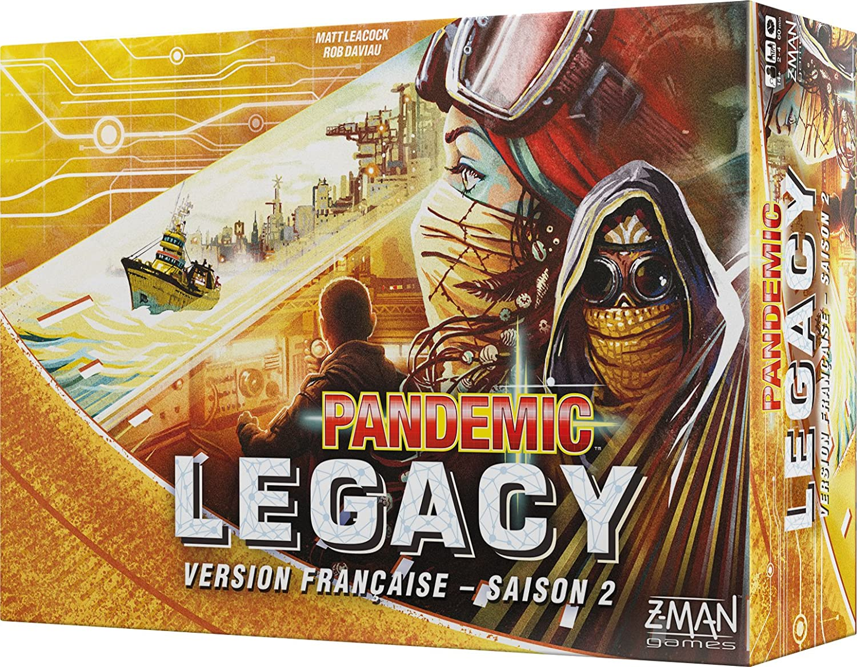 Asmodee - Pandemic - Legacy Amarillo Saison 2, pan08yel, no ...