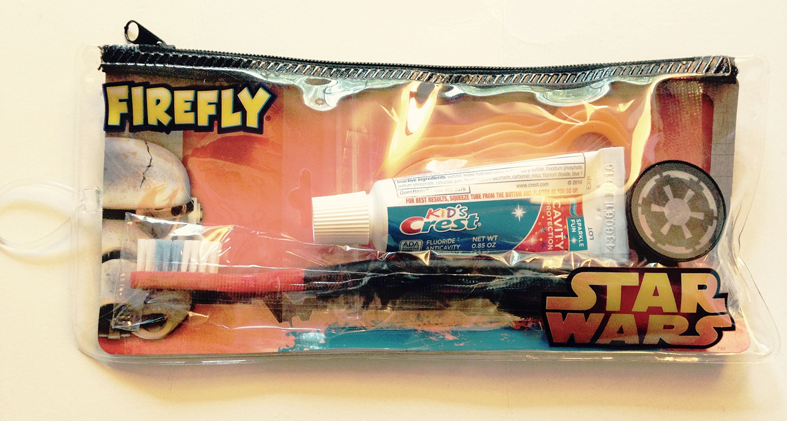 Firefly Dental Travel Kit for Kids (Star Wars ~ Darth Vader)