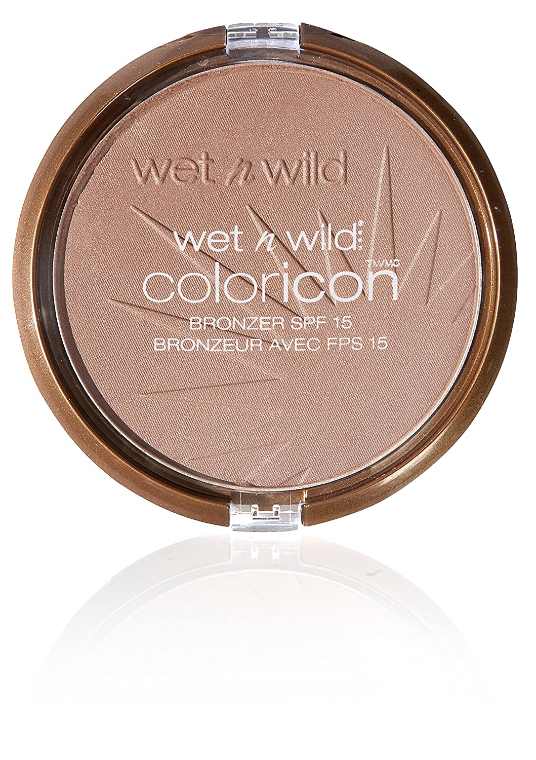 WET N WILD – Poudre bronzante COLOR ICON BRONZER – Texture non grasse - Teinte Ticket to Brazil - Made in US - 100% Cruelty Free - Produit Vegan WetNWild E739
