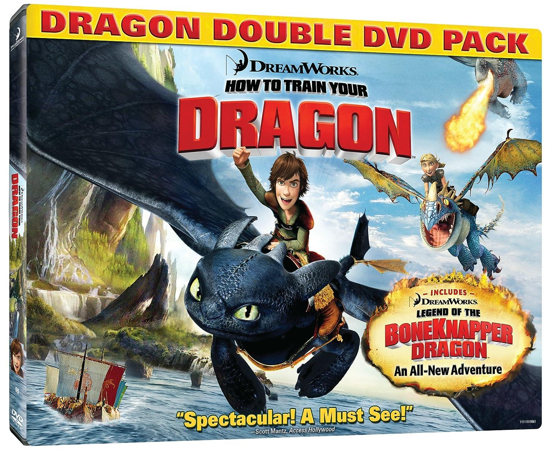 Amazon Com How To Train Your Dragon Double Dvd Pack Jay Baruchel Gerard Butler Dean Deblois Chris Sanders Movies Tv