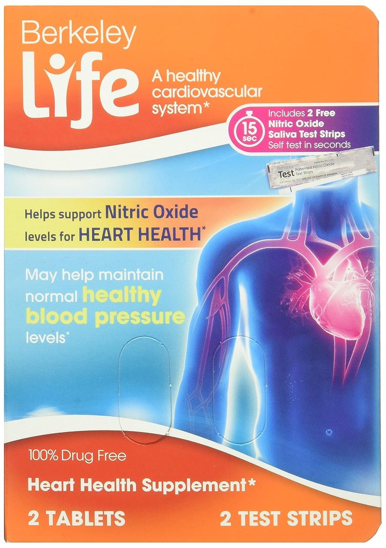 Amazon Heart Health Dietary Supplement Sample Berkeley Life