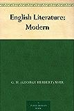 English Literature: Modern (English Edition)