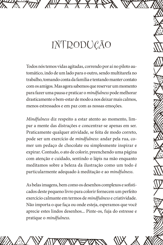 Mindfulness O Livro De Colorir Livro Para Colorir Na Amazon Com Br