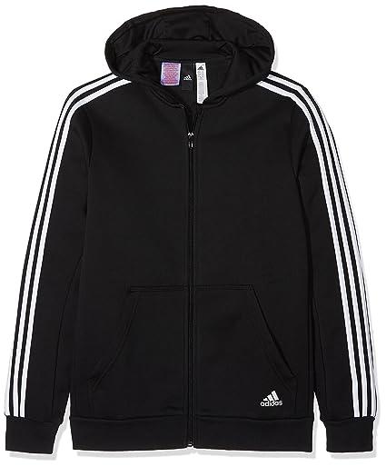 Adidas CF6582 Chaqueta, Niños, Negro/Blanco, 176 (15/16 años