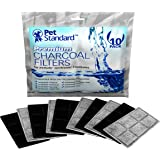 Premium Charcoal Filters for PetSafe Drinkwell Fountains Pack of 10