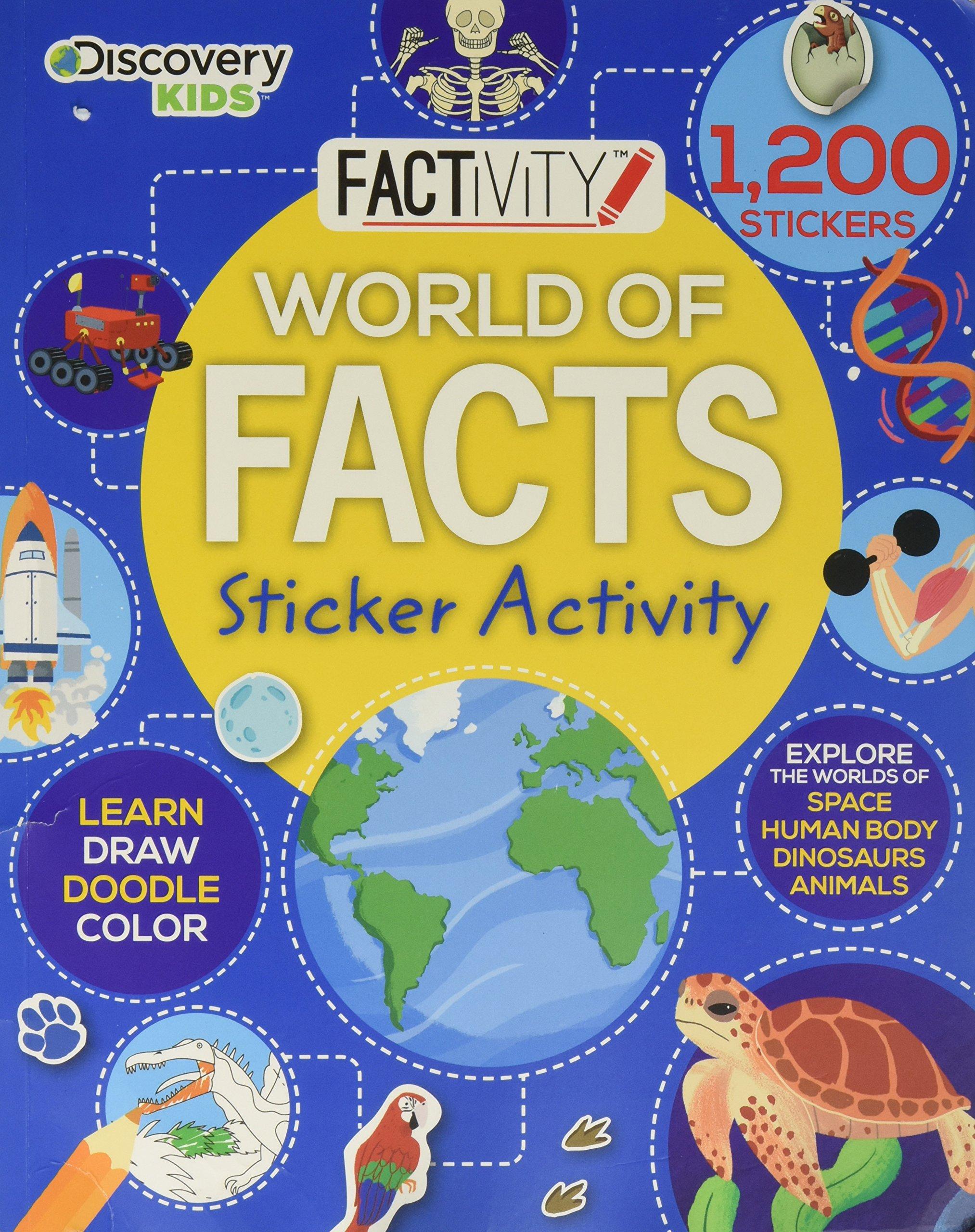 Discover Kids Sticker Activity (Sticker Activity Book) pdf epub