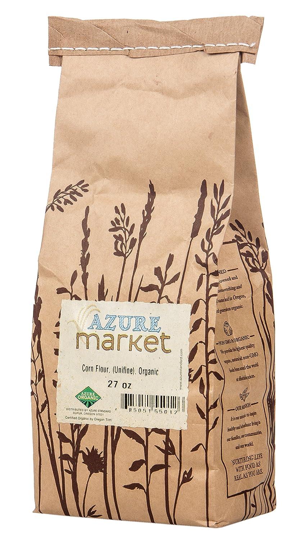 Amazon.com : Azure Market Organics Corn Unifine Flour, Non-GMO, Gluten-Free, 5 lb : Grocery & Gourmet Food